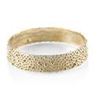 Granulated Wide Bangle