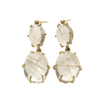 Rutilated Quartz Earrings